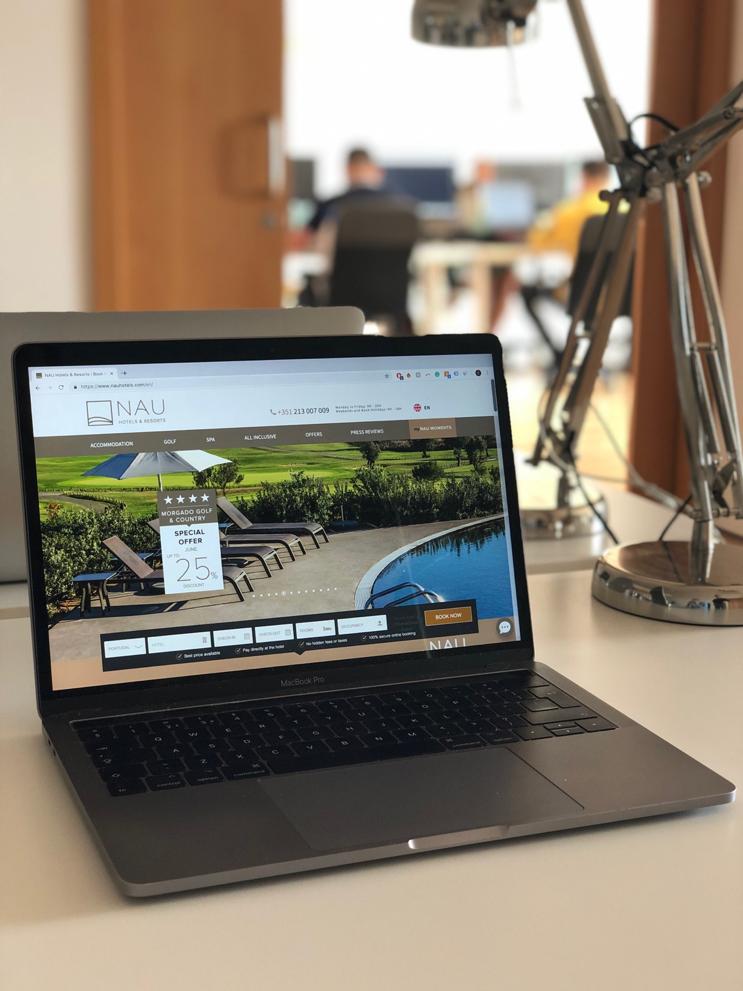 NAU hotels website
