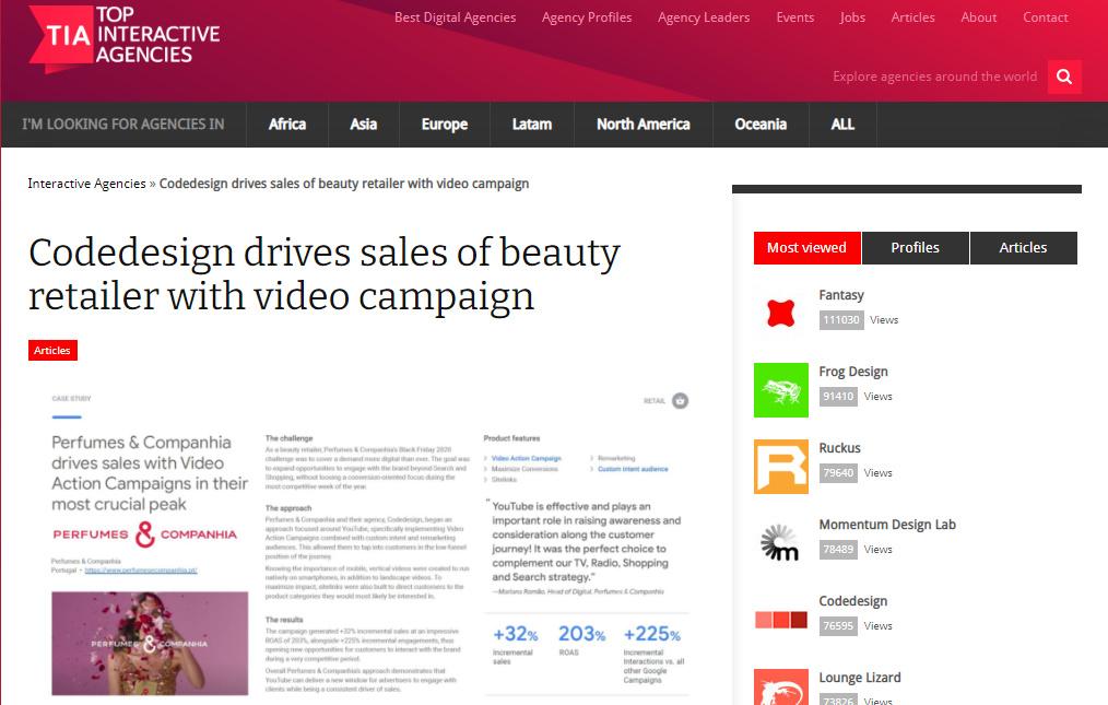 Digital marketing agency-codedesign portfolio
