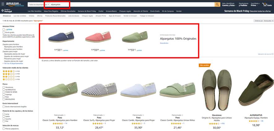 PAEZ Amazon Brand Campaign