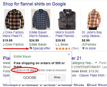 Google Shopping title optimisation