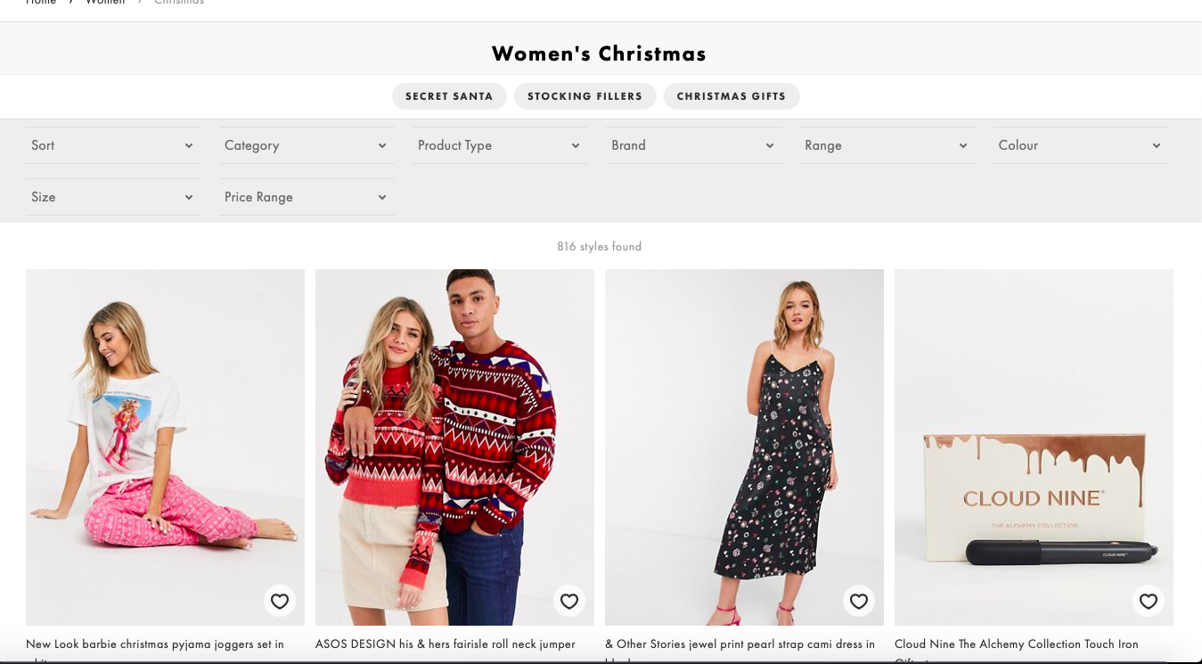 Christmas ecommerce strategy