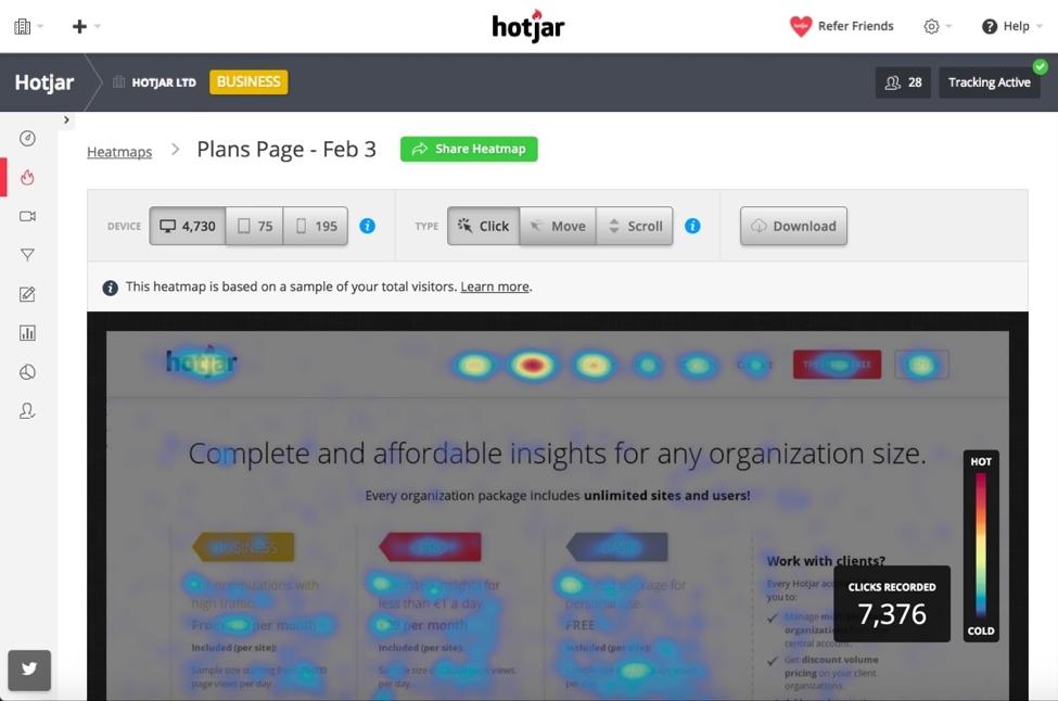 hotjar-heatmap