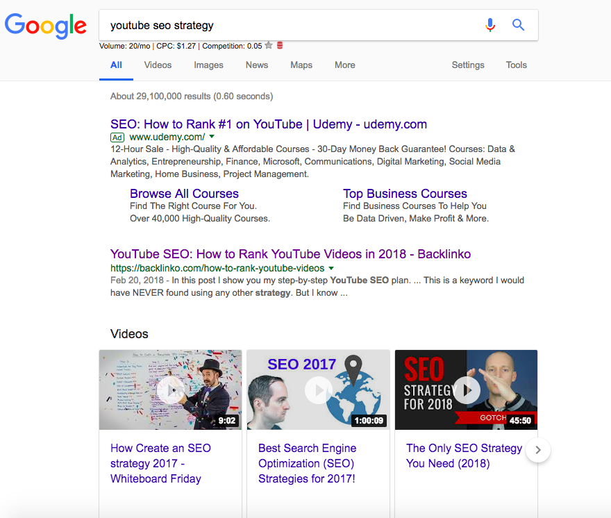 youtube-seo-serp